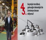 İş Makinası - HİDROMEK 43 kuruluş yıl dönümünü kutluyor Forum Makina