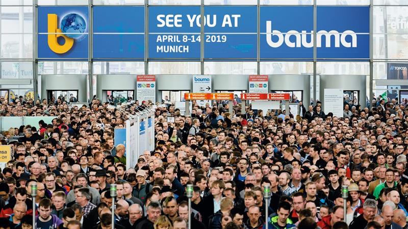 İş Makinası - BAUMA 2019'ün şifreleri Elektromobilite, Dijitalizasyon, Çevre