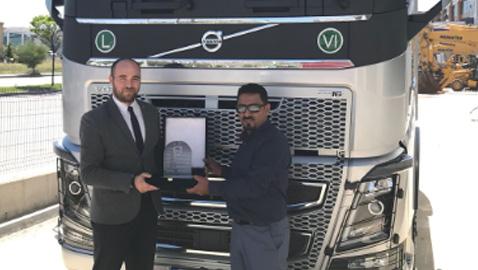 Saha Metal Volvo Trucks'ın en güçlü çekicisini tercih etti
