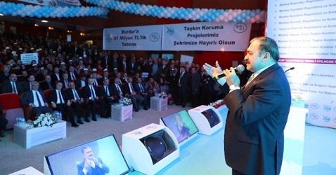 İş Makinası - Burdur'a 81 Milyon TL'lik 13 tesis