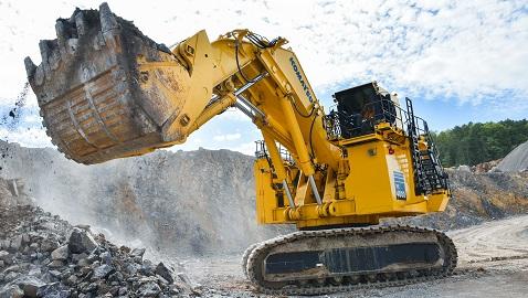 İş Makinası - Komatsu'nun satışlarına Çin ve Asya gölgesi
