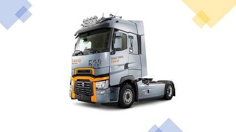 2020 model Renault Trucks T ve T High çekiciler yollarda
