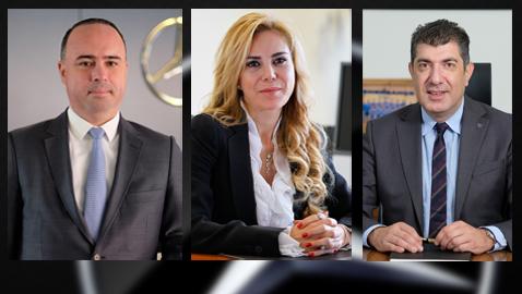 İş Makinası - Mercedes-Benz Türk bünyesinde üç üst düzey atama