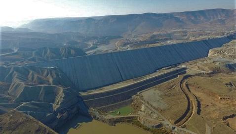 İş Makinası - Ilısu Barajı ve HES Projesi'nde sona yaklaşıldı