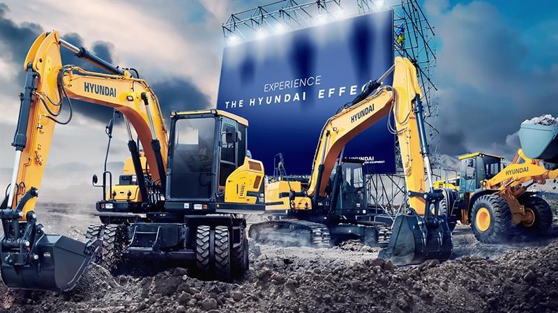 Hyundai iş makineleri artık Hasel güvencesi altında