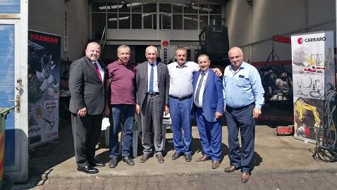 Bobcat, Yanmar ve Carraro'nun Kayseri'deki yeni adresi RC Makine oldu