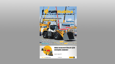 Forum Makina Dergisi Temmuz 2016 sayısı internet sitemize yüklendi