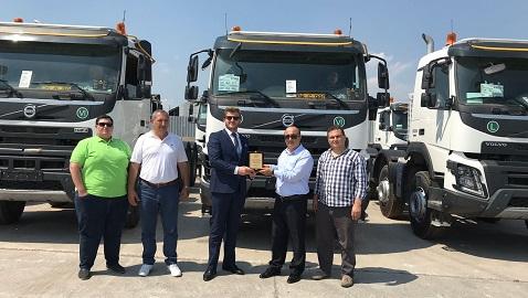 Demir Kardeşler Madencilik filosunu Volvo FMX kamyonlar ile güçlendirdi