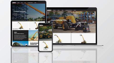 Dieci web sitesi www.dieci.com.tr yeni tasarımıyla yayında