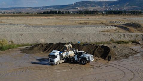 İş Makinası - Çevreye saygılı İnce Kum, üretimini HİDROMEK ile artırıyor