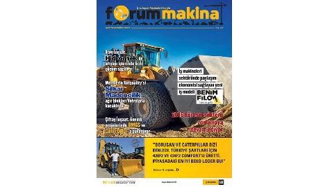Forum Makina dergisi 63 üncü sayısı yayında