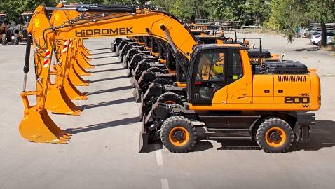 İş Makinası - Karayolları Genel Müdürlüğü makine parkına 26 yeni HİDROMEK