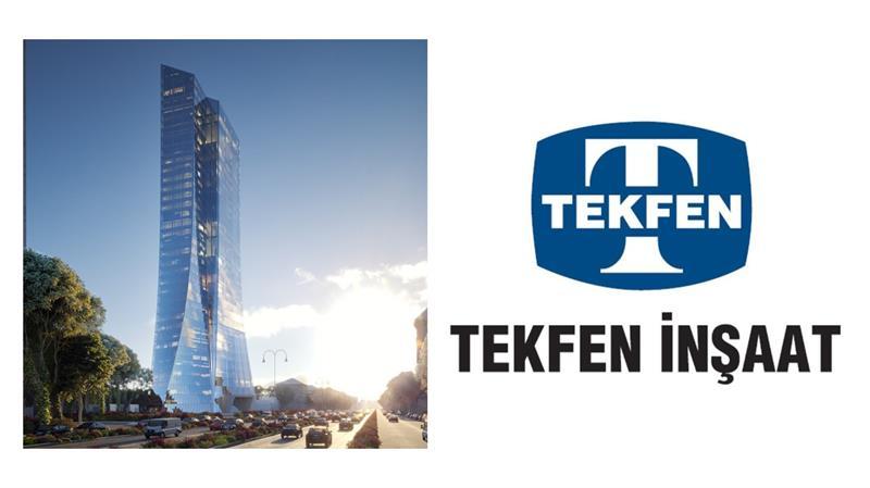İş Makinası - Tekfen İnşaat Azerbaycan Merkez Bankası'nın yeni binasını inşa edecek