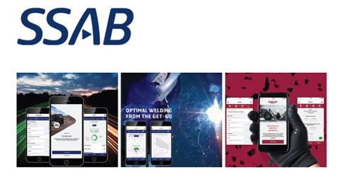 SSAB'den çeliğin verimini artıracak mobil uygulamalar