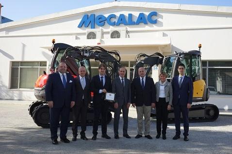 MECALAC, İMDER üyeleri arasına katıldı
