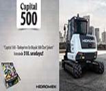 İş Makinası - HİDROMEK, bir kez daha en büyük 500 şirket arasında Forum Makina