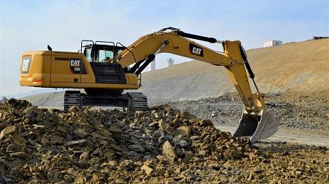Yeni nesil Cat 336, 50 tonluk büyüklerine kafa tutuyor