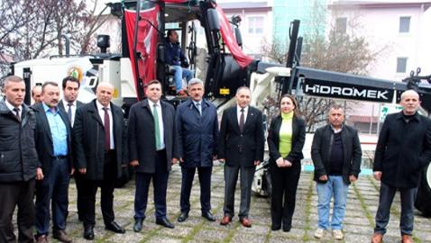 Vezirköprü Orman İşletme Müdürlüğü greyder ve ekipman yatırımı yaptı