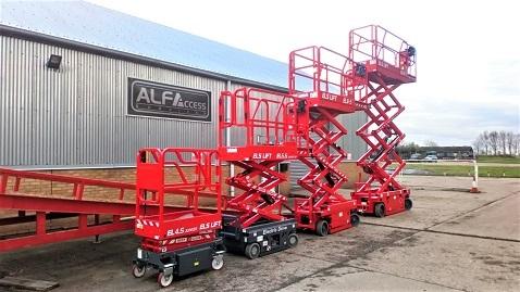 İş Makinası - ELS Lift'in İngiltere distribütörü Alfa Access Service oldu