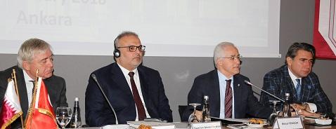İş Makinası - Katar Heyeti işbirliği fırsatlarını değerlendirmek üzere Türkiye'ye geldi