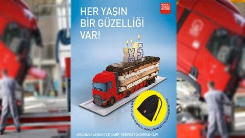 İş Makinası - Renault Trucks'tan 4 yaş ve üzeri araçlarına kış kampanyası