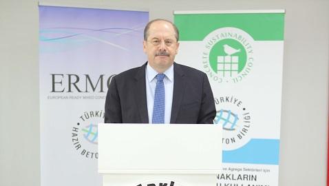 İş Makinası - Yavuz Işık, yeniden THBB Yönetim Kurulu Başkanlığına seçildi
