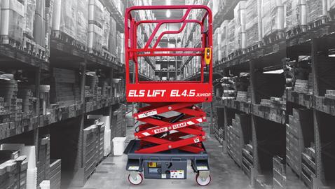 İş Makinası - ELS Lift'ten dar alanlarda hızlı yükselmek için yeni platform EL 4.5 Junior