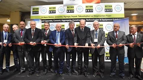 İnşaat sektörü İstanbul'daki Beton 2017 Fuarı'nda buluştu