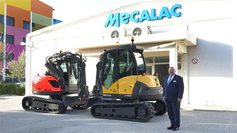 Mecalac Türkiye'de bayilik yapılanmasına başladı
