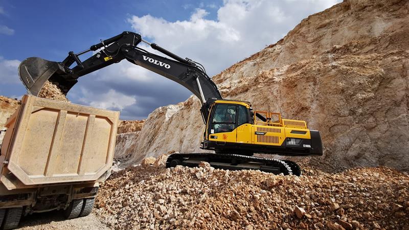 İş Makinası - CYS Yapı, taş ocaklarında Volvo ile tasarruf hedefliyor