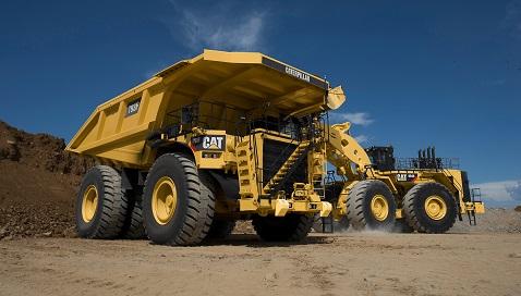 İş Makinası - 5.000'inci Cat 793 kaya kamyonu Avusturalya madenlerinde