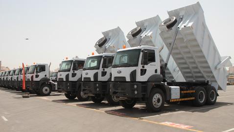 Ford Trucks'tan Suudi Arabistan'a 100 adetlik büyük teslimat