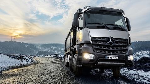Mercedes kamyon ve çekiciler de Kamu Bankaları Finans Kampanyası'nda