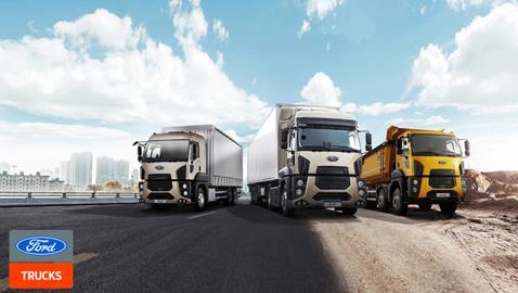 Ford Trucks'tan 250 bin TL krediye, 12 ay vade ve '0 faiz' kampanyası