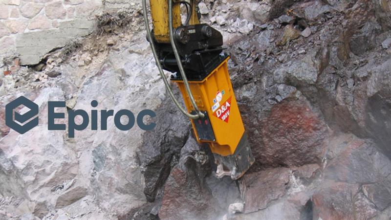 İş Makinası - Epiroc, DandA hidrolik kırıcıları bünyesine kattı