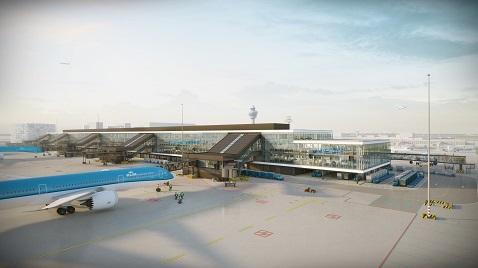 Amsterdam Schiphol Havalimanı ek terminal binasını iki Türk inşa edecek