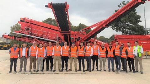 Terex Finlay İrlanda ekibi Temsa İş Makinaları ile bir araya geldi