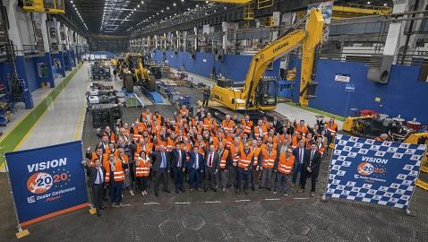 İş Makinası - LiuGong, Vizyon 2020 temasıyla Avrupa Bayi Konferansı düzenledi