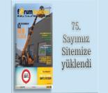 İş Makinası - Forum Makina dergisi 75'inci sayısı sitemize yüklendi Forum Makina