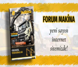 İş Makinası - Forum Makina dergisi 80'inci sayısı sitemize yüklendi Forum Makina